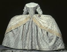Court dress of Louisa Ulrika of Sweden ca. 1751  From the Royal Armory and Hallwyl Museum