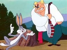 """Opera star Giovanni Jones is trying to rehearse but Bugs is singing another tune while playing his banjo, then his harp, then his tuba. Jones destroys the instruments over Bugs' head, and, of course, """"this means war."""" Revenge takes place when Bugs, as white-maned """"Leopold"""", conducts Jones' Hollywood Bowl concert."""