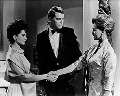 Angie Dickinson, Troy Donahue, and Suzanne Pleshette in Rome Adventure (1962)