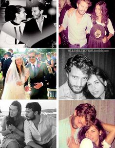 Jamie Dornan & his wife Amelia Warner.