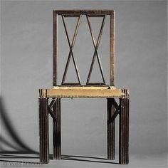 Josef  Hoffmann - Chair c. 1913, www.secessions.com  Yves Macaux