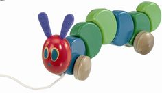 Buy your The Very Hungry Caterpillar Pull Along Toy (30cm) from Kiddicare Baby Activity Toys| Online baby shop | Nursery Equipment