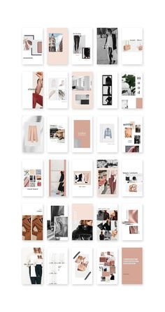 Trendy fashion design development pages portfolio layout Ideas Layout Design, Design De Configuration, Graphisches Design, Book Design, Custom Design, Graphic Design, Instagram Design, Story Instagram, Instagram Story Template