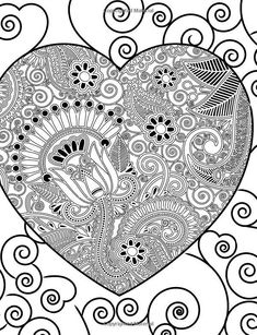 82 Best Color Therapy Ap images | Coloring pages, Coloring books ...
