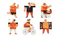 Illustrations 2014/2015 on Behance
