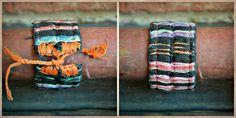 large handmade huipil friendship bracelet from guatemala. $12