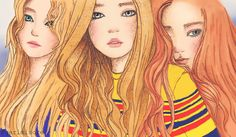 Red Velvet. by ririss on DeviantArt