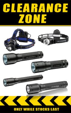 The Lights Are Out! Over 30% OFF 2013 Model Led Lenser Torches & Headlamps! http://bit.ly/S4Wswd #sale #led #lights