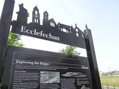 Ecclefechan Heritage Interpretation on Behance Park Signage, Wayfinding Signage, Parking Design, Signage Design, Urban Landscape, Landscape Design, Sign Board Design, Outdoor Signage, Sign Image
