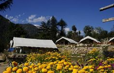 #3. Indulge in the Mystic Sangla Valley (Himachal Pradesh) Camping experience Best time to visit: June to October Accommodation: Tents