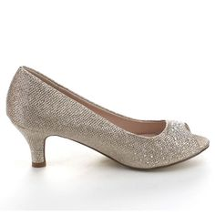Bonnibel Wonda-2 Women's Low Heel Glitter Slip-on Dress Pumps - Overstock Shopping - Great Deals on Heels