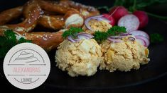 Fränkischer Obatzter - Brotaufstrich - Rezept von Alexandra´s Food Lounge Lounge, Food, Youtube, Cream Cheese Recipes, Limburger Cheese, Vegetarian Snacks, Airport Lounge, Eten, Meals