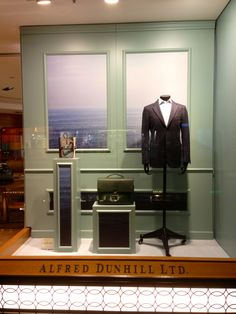 LK By Lincoln Keung: ALFRED DUNHILL Window Display -- PACIFIC PLACE -- Hong Kong