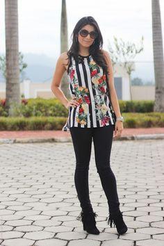 look do dia bota de franjas estilo fashion moda borboletas na carteira-19
