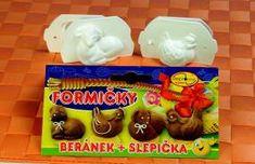 Formičky na plněné cukroví beránek + slepička Pudding, Desserts, Food, Tailgate Desserts, Deserts, Custard Pudding, Essen, Puddings, Postres