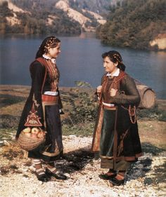 Festive costumes for young . Festive costumes for young women. Beginning of XX century. Folklore, Folk Clothing, Folk Dance, Good People, Amazing People, Folk Costume, Traditional Dresses, Culture, Young Women