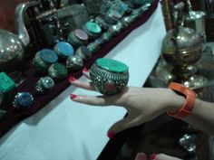 Berber jewelry | Flickr - THIS is a ring !!!