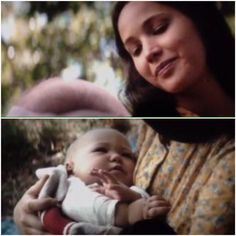 Katniss and her baby
