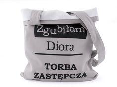 Torebka bawełniana, szoperka, shopper bag Diora (proj. BAJAGA STUDIO), do kupienia w DecoBazaar.com