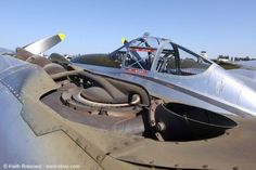 The famous General Electric Supercharger on a P-38 Lightning.