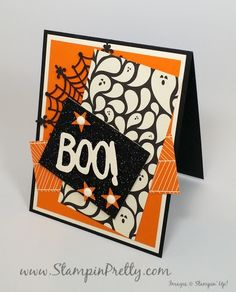 stampin up halloween card idea mary fish stampin pretty stamping up demonstrator blog Boo to You