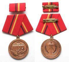1978 DDR - Orden und Abzeichen GERMAN DEMOCRATIC REPUBLIC bronze medal for…