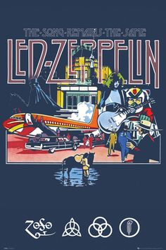 Led Zeppelin Remains Poster at AllPosters.com
