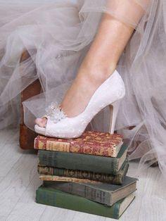 Bridal Shoes Worcester Perfect Bridal Celia Blush with DamsonIMG_4464