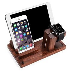 Apple Watch Stand, Aerb Rosewood Charge Dock Holder for Apple Watch & Docking Station Cradle Bracket for iPod iPhone iPad & Other Phones Tablets Aerb http://www.amazon.com/dp/B010LA2CDQ/ref=cm_sw_r_pi_dp_poZdwb11FMNY8