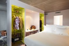 Mama Shelter, Marseille, France by Philippe Starck Philippe Starck, Design Hotel, Mama Shelter Marseille, Open Hotel, Shelter Design, Modern Bedroom Design, Hotel Interiors, Design Furniture, Home Bedroom