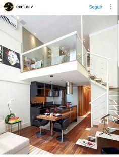 Loft Schlafzimmer Dekor, Loft Schlafzimmer, Art Deco Interieur, Moderne  Einrichtung, Deko Element Innenbereich, Ideen Zur Innenausstattung, ...