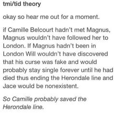 Then..thank you Camille Belcourt! #TMI #TID
