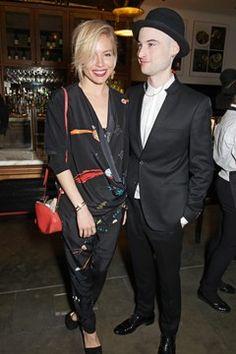 Sienna Miller and Tom Sturridge | American Buffalo press night performance, London - April 27 2015