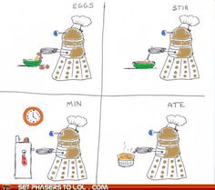 What they've really been saying all along. They're just trying to create something dalek-table for us.