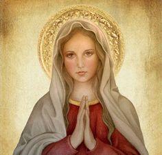 >Virgencita querida cúbrenos con tu manto, protégenos del mal e intercede por nosotros. #SOSVenezuela pic.twitter.com/d1hHqOJPr2