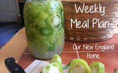 Healthy Meal Plan 2.22.16 *Using up what's left over -Our New England Home