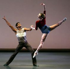 Sara Mearns and Amar Ramasar in Tyler Peck's Rodeo, NYCB