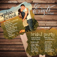 Premade NonCustom Sample for 2 Dollars or Sets by Eventsbyicandy, $2.00