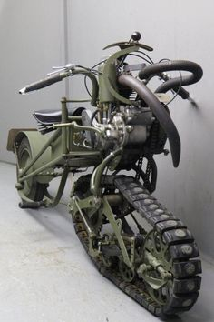 DO YOU LIKE VINTAGE - Mercier 1937 Moto Chenille 350cc