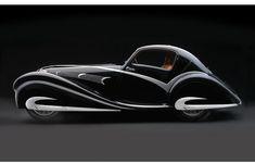 Acero sensual: Automóviles Art Deco