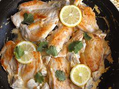 As receitas lá de casa: Bifinhos de frango com limão