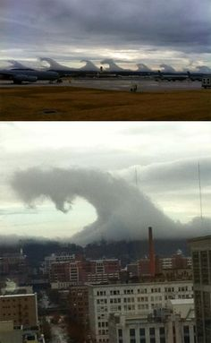 rare wave clouds