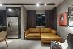 Apartamento compacto ganha reforma inspirada na moda