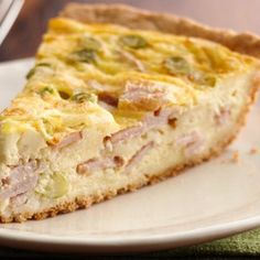 Quiche crust can be a pain, but this Bisquick press-in-the-pan crust is so easy, you'll want to make quiche every weekend. If things are slow-going in the morning, you can get a few steps ahead by chopping the Canadian bacon, shredding the cheese and slicing the onions the night before.