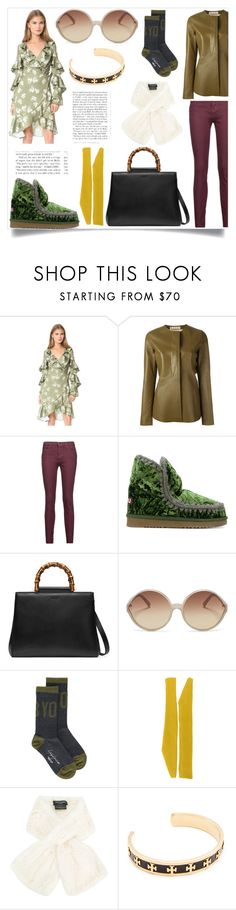 """""""Passion for fashion"""" by gloriaruth-807 ❤ liked on Polyvore featuring Keepsake the Label, Marni, Current/Elliott, Mou, Gucci, Linda Farrow, Yohji Yamamoto, Calvin Klein 205W39NYC, Yves Salomon and Tory Burch"""