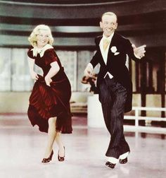 """Ginger Rogers & Fred Astaire """"Swing Time"""""""