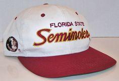 Florida State Seminoles Football Vintage Sport Specialties Script Snapback Hat #SportSpecialtiesTwill #FloridaStateSeminoles