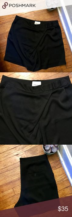 3.1 Phillip Lim wrap shorts! 3.1 Phillip Lim shorts!! Very light fabric with amazing wrap detail on front. Side slit pockets and a single pocket on back!! Measure 17 inches in length! 78% acetate 22% polyester 3.1 Phillip Lim Shorts