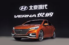 Hyundai, the Korean carmaker has showcased the Next-Gen Hyundai Verna Concept Sedan that gives a preview of the 2017 Hyundai Verna, at the ongoing 2016 Beijing Motor Show.