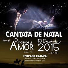 O Amor Nasceu!  https://youtu.be/dy5E1xQ4GSA  #cantata #natal #coral #amor #love #nasceu #vida #musica #celebrar